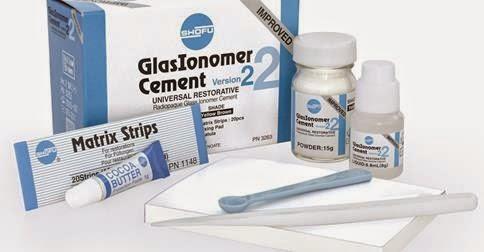 GLASSIONOMER CEMENT VERSION - 2 15G POW + 8ML LIQ